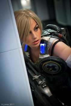 Anya Stroud from Gears of War 3 | Cosplayer: Meagan Marie | Photographer: LJinto