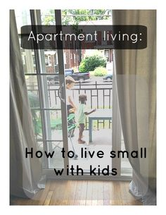 Apartment living with kids.