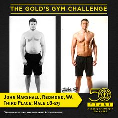 The 2015 Gold's Gym Challenge Winners on Pinterest | Gold ...