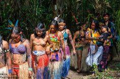 II Festival Huni Kuin Eskawatã Kayawai – Humaitá – Aldeia Novo Futuro – Acre – Brasil! Pictures by Amir Leron