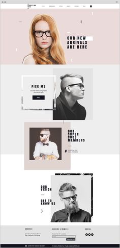 Eyewear Store Website Template