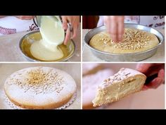 The famous Torta Della Nonna, a stuffed Italian cake. Italian Cake, Italian Desserts, Köstliche Desserts, Delicious Desserts, Yummy Food, Crumble Pie, Sweet Recipes, Cake Recipes, Sweet Pastries