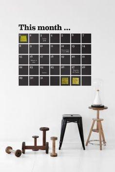 Gute idee f r einen stylischen kalender tolle ideen mit for Wohnungseinrichtung planer