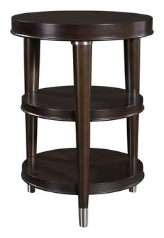 Vibe Round Chairside Table | Broyhill | Home Gallery Stores