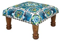 The perfect footstool to refresh any space!
