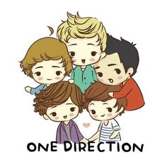 Caricaturas de One Direction