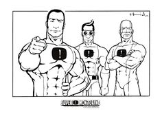 A coloring page from the Free Superhero Coloring Book. Download it and print for your kids. http://www.supermonitoring.com/p/free-coloring-book