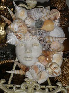Un angelot et des coquillages bretons :) DIY un peu cucul... mais très coco | Finistère | Bretagne | #myfinistere