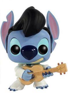 Cabezón Stich Elvis Presley 9 cm. Lilo