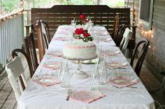 Dear Emmeline: Easy DIY {Ruffled Birthday Cake}