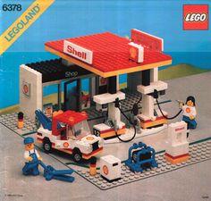 6378-1: Shell Service Station | Brickset: LEGO set guide and database