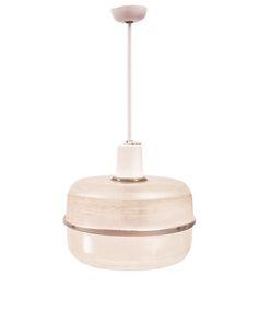 Suzan Fellman, Jumbo Holophane Light Pendant, Dering Hall
