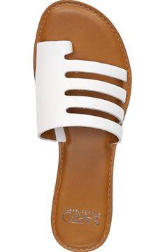 G Fore Womens Golf Shoes Refferal: 8807280591 Shoes Flats Sandals, Slide Sandals, Shoe Boots, Pretty Sandals, Beautiful Sandals, Leather Slippers, Leather Sandals, Designer Shoes, Fashion Shoes