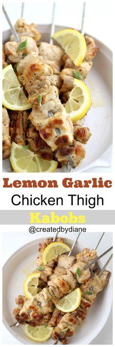 tender juicy chicken thighs with a lemon garlic ma…Edit description