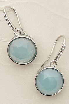 Anthropologie EU Capri Shimmer Earrings, Style No. 7412437531214