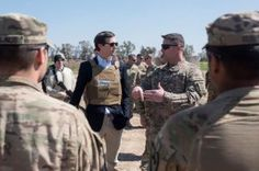 """Kushner in Iraq haha -""""What better way to terrify the caliphate than by sauntering around in a bulletproof vest that's been personalized like a pair of Underoos, and then wearing it OVER a goddamn blazer? It's a sharp look, one that says, """"I'd like to make a war, but I'd also like a mint julep."""""""