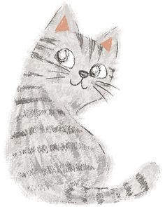https://www.behance.net/gallery/Drawing-pencil-and-paintbrush-Cats/7663363
