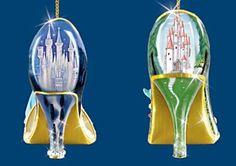Disney Princesses - Brandford Exchange Once Upon a Slipper Ornaments