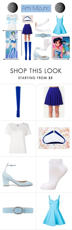 """Sailor Mercury: Ami Mizuno"" by mya0nah21 on Polyvore featuring Privileged, Visvim, Valentino, Dorothy Perkins, Jeckerson and Jeremy Scott"