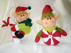 EL TALLER DE ROSA: MUÑECOS 2011 Christmas Fabric, Christmas Crafts, Christmas Ornaments, Fabric Decor, Fabric Crafts, Reno, Elf On The Shelf, Holiday Decor, Home Decor
