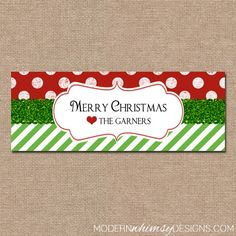 CHRISTMAS Facebook Cover Personalized by ModernWhimsyDesign, $12.00