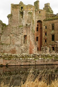 Caerlaverock Castle, Dumfries and Galloway, Scotland.  This is my second favorite castle in Scotland