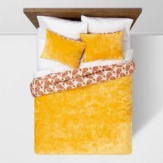 Amber Reversible Velvet Peacock Print T/xlt Comforter & Sham Set - Opalhouse™ : Target Amber, Peacock Print, Create Space, Bedroom Sets, Master Bedroom, Comforter Sets, Decoration, Pillow Shams, Decorative Throw Pillows