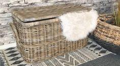 #riet #meubels #accessoires #sfeervol #meubels #manden #opbergmanden #bloempotten #modern #hip # Laundry Basket, Wicker, Van, Modern, Summer, House, Home Decor, Accessories, Trendy Tree