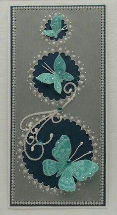 Vellum Crafts, Parchment Design, Butterfly Cards, Butterfly Template, Butterfly Dragon, Monarch Butterfly, Parchment Cards, Newspaper Crafts, Stamp Making