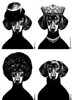 Linguicinhas Pop Art de Lisa Bengtsson | Pequenina Vanilla