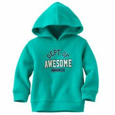 Jumping Beans Dept. of Awesome Fleece Hoodie - Baby