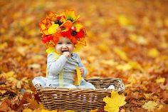 Осенняя фотосессия. Детская фотосессия