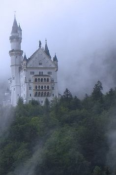 Neuschwanstein Castle, Bavaria, Germany.  The trip you missed - no one entered - we ran out of time - you went in winter when it was closed.