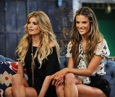 Marisa Miller and Alessandra Ambrosio Marisa Miller, Sienna Miller, Sports Illustrated, Bad Hair, Hair Day, San Diego, Victoria's Secret, Cool Hair Color, Hair Colour