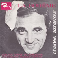 La Bohème is a song written by French songwriter Jacques Plante and Armenian-French artist Charles Aznavour. It is a symbol in the career of this inimitable and brilliant artist. When you see Mr. A...