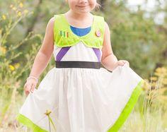 Buzz Lightyear Inspired Dress