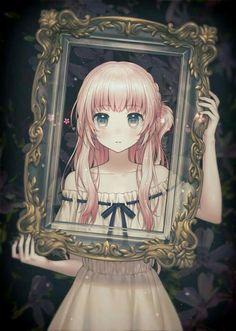 e-shuushuu kawaii and moe anime image board Kawaii Anime Girl, Manga Kawaii, Anime Girl Pink, Anime Art Girl, Anime Girls, Pink Hair Anime, Kawaii Hair, Sad Anime Girl, Anime Love