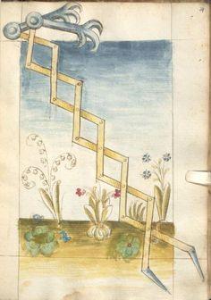 Bellifortis VerfasserKyeser, Conradus  ErschienenElsaß, [um 1460] Ms. germ. qu. 15  Folio 79r