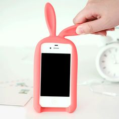 Cute Rabbit Storage Silicone Case For Iphone 4/4S/5 from New Iphone Cases…