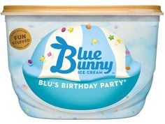 Blus Birthday PartyR Blue Bunny Ice Cream Ben And Jerrys