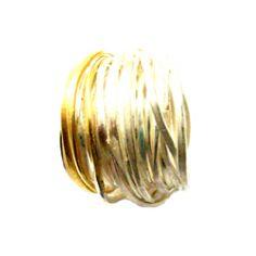 DISA ALLSOPP -UK   18kt gold spaghetti ring (13 coils)