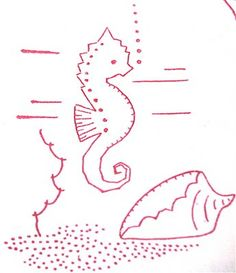 Image detail for -And then some fabulous vintage embroidery transfers. These are just ...