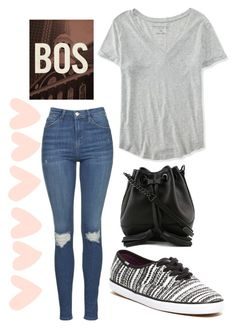 """A Day in Boston"" by peacefreak27 on Polyvore featuring Topshop, Aéropostale, Keds and Rebecca Minkoff"