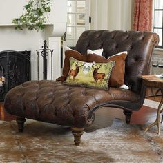 Is your home in need of a new chaise lounge or sofa? These furniture pieces from King Ranch Saddle Shop will have you luxury leather lounging soon. Chaise Lounges, Leather Furniture, Home Furniture, Western Furniture, Furniture Outlet, Furniture Stores, Discount Furniture, Bedroom Furniture, Long Chair