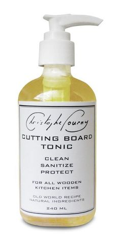 Best Cutting Board Oil: Christophe Pourny, John Boos & 2 More — Maxwell's Daily Find 07.06.15 | Apartment Therapy