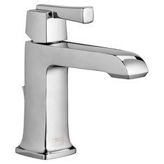 Townsend Single-Handle Bathroom Faucet - American Standard Tub Faucet, Bathroom Sink Faucets, Bathroom Fixtures, Condo Bathroom, Light Bathroom, Bath Light, White Bathroom, Single Handle Bathroom Faucet, Single Sink