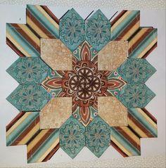 Block #29 - Fabric from Carol Richardson for POTC swap (February 2015)