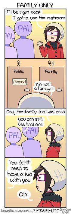 4-Panel Life :: FAMILY ONLY   Tapastic Comics - image 1