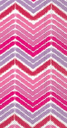 Ideal Home Range 16 Count Ikat Stripe Pink Paper Guest Buffet Towel Napkins *** Click image to review more details.