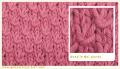 Knitting Stitch Patterns, or combinations of knitting stitches, are a wonderful way to expand your knitting skills. See Knitting Terms an. Knitting Terms, Baby Knitting Patterns, Knitting Stitches, Knitting Projects, Stitch Patterns, Crochet Patterns, Knitting Tutorials, Crochet Baby, Knit Crochet